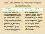 acc 410 course career path begins acc410 dotcom7