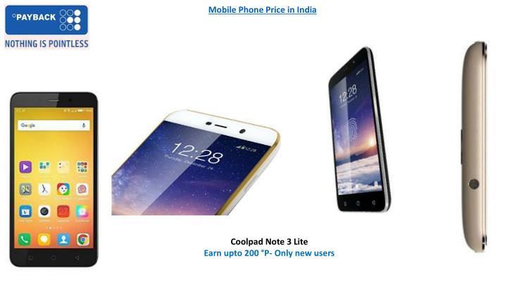 Mobile Phone Price in India