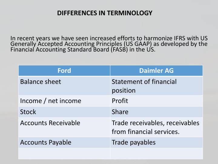 usgaap and the differences Title: us gaap vs ifrs: business combinations at-a-glance author: rich stuart subject: rsm us's us gaap vs ifrs comparisons at-a-glance series is designed to provide you with an overview of the significant differences between us generally accepted accounting principles \(gaap\) \(excluding private company accounting.