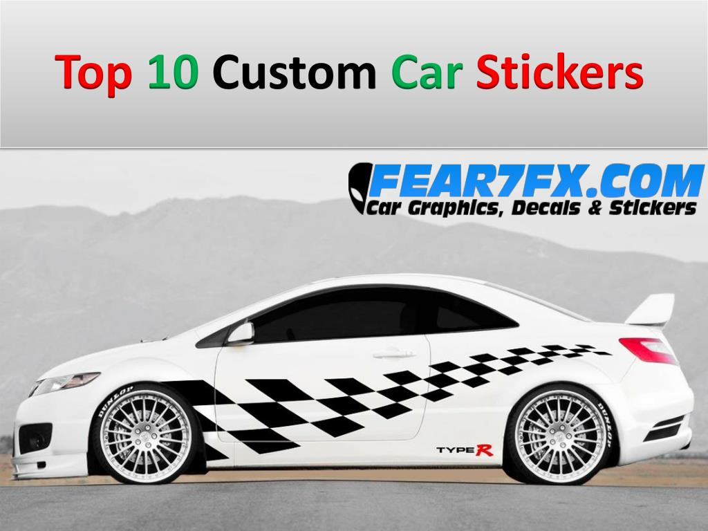 Ppt Top 10 Custom Car Stickers Powerpoint Presentation Free Download Id 7386661 [ 768 x 1024 Pixel ]