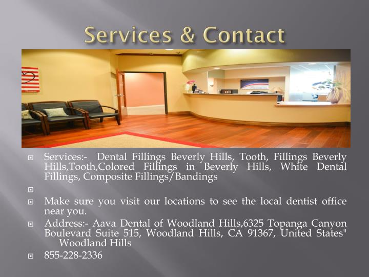 Services & Contact