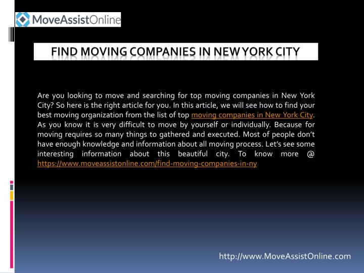 find moving companies in new york city n.