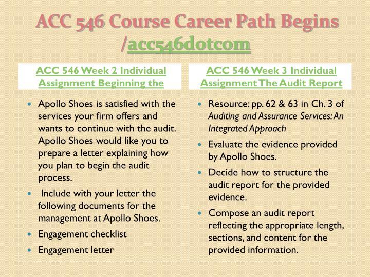 Acc 546 course career path begins acc546 dotcom2