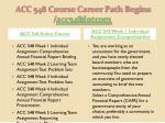 acc 548 course career path begins acc548 dotcom1