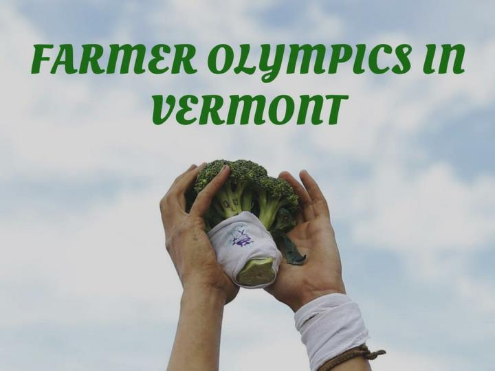 rancher olympics in vermont n.