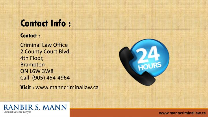 Contact Info :