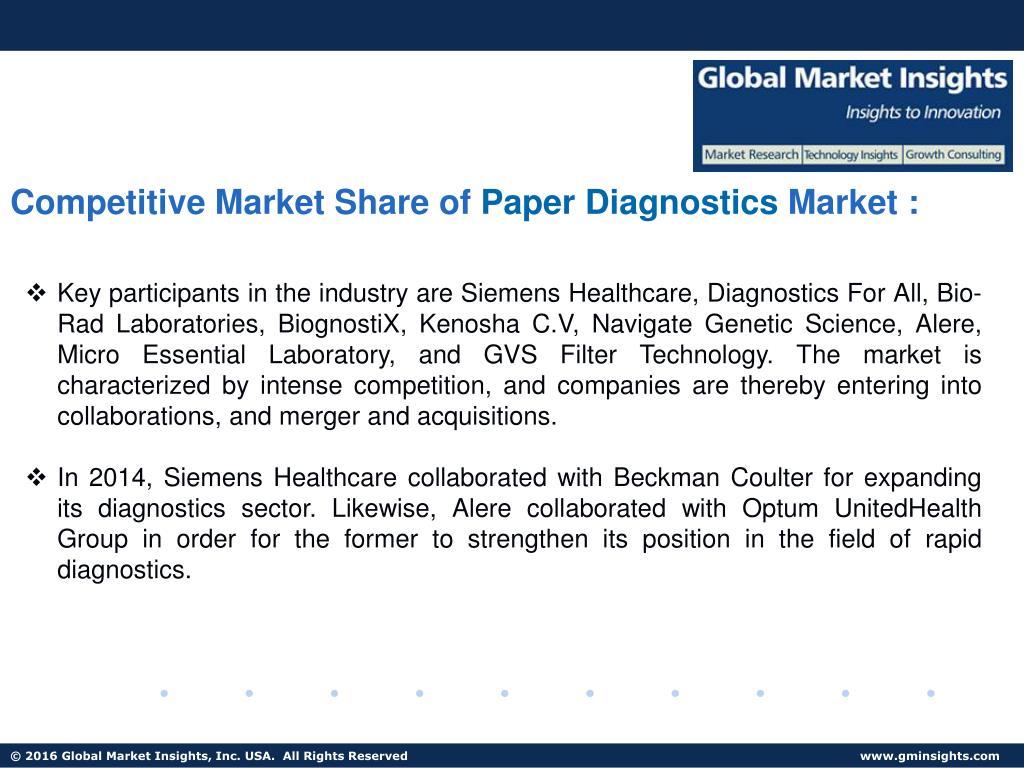 PPT - Paper Diagnostics Market size to exceed USD 8 billion