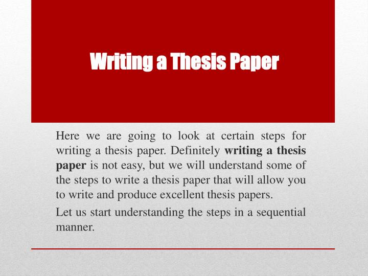 buying thesis papers