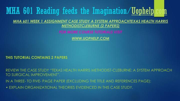 Mha 601 reading feeds the imagination uophelp com2