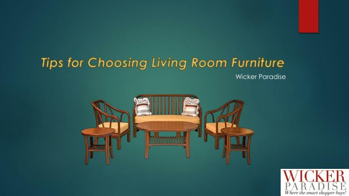 tips for choosing living room furniture n.