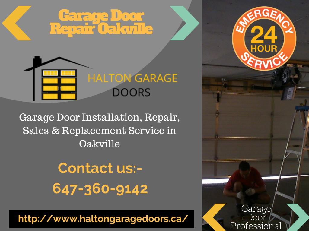 Ppt Garage Door Repair Service Oakville Powerpoint Presentation Free Download Id 7388002