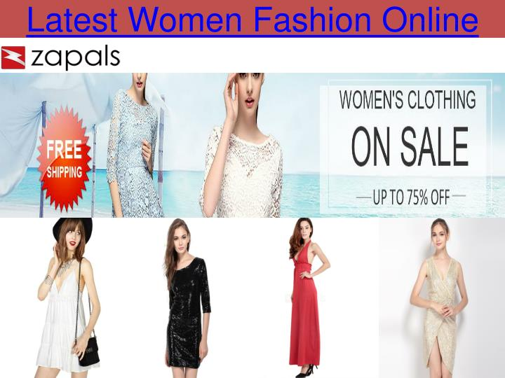 Latest women fashion online