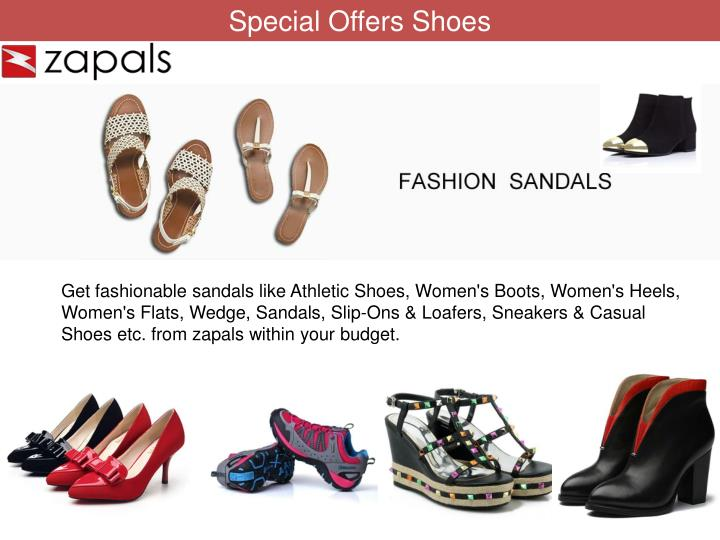 Special Offers Shoes