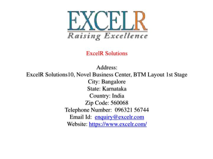 ExcelR Solutions