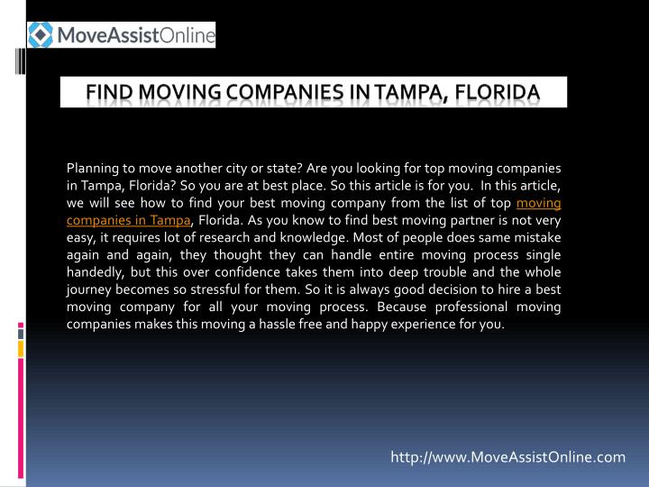 find moving companies in tampa florida n.