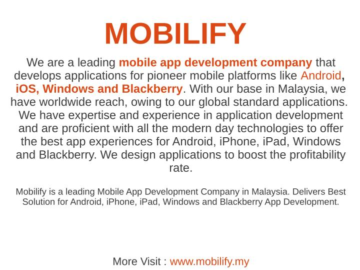MOBILIFY