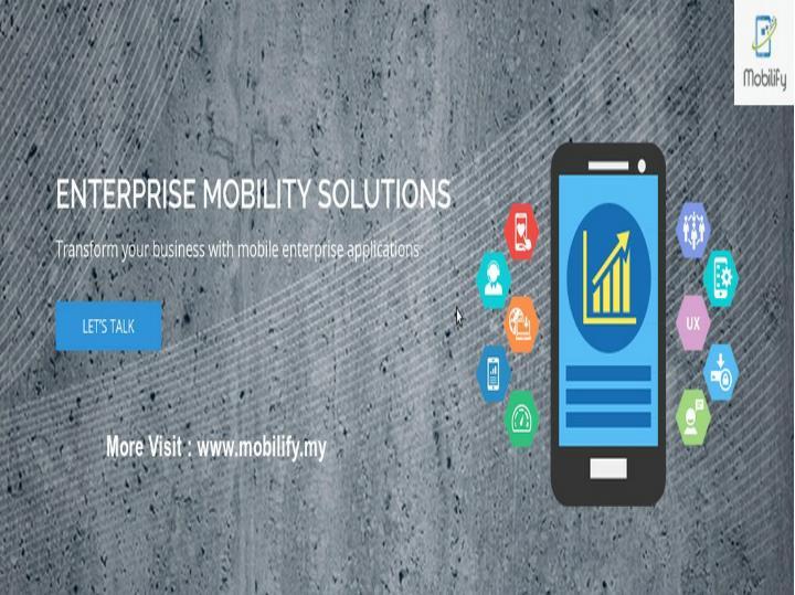 Iphone app development android app development mobilify
