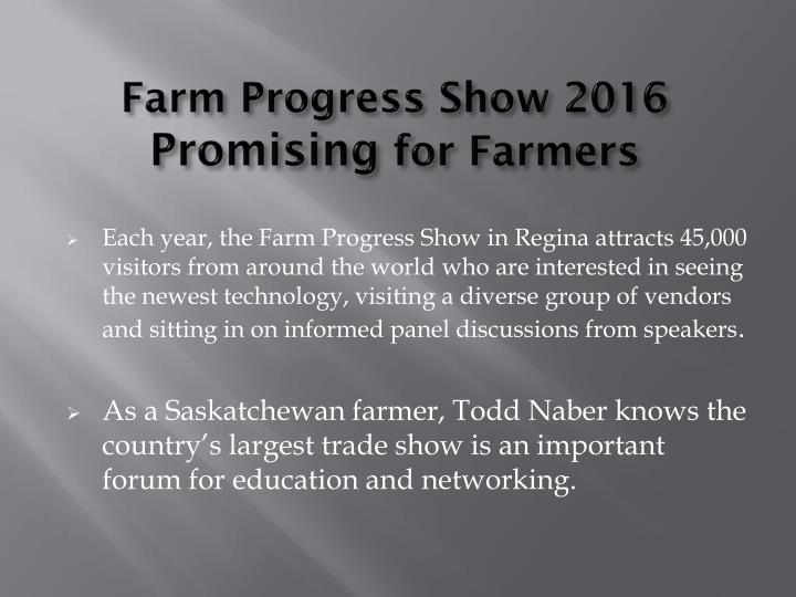 Farm Progress Show 2016