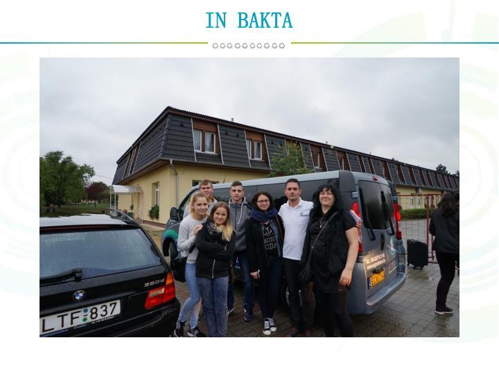 IN BAKTA