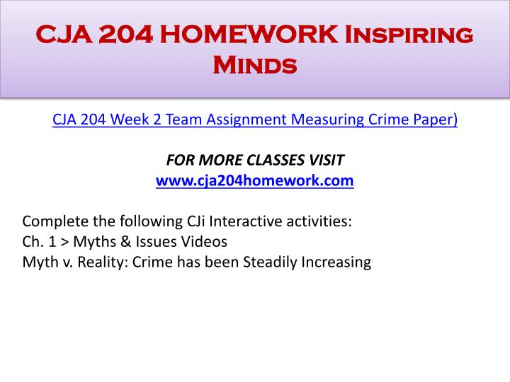 CJA 204 WEEK 1 INDIVIDUAL CRIMINAL JUSTICE SYSTEM PAPER