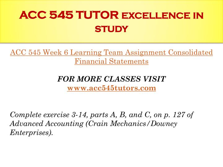 acc 545 Acc 545 class acc 545 week 1 cpa report acc uploads including first time here free sample paper to study, just for you :), limited time, and search.