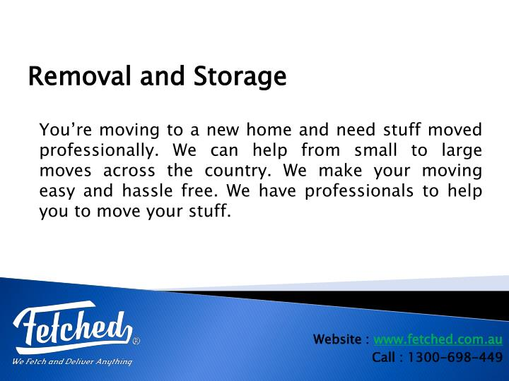 You're moving to a new home andneed stuff moved professionally. We can help from small to large moves across the country. We make your moving easy and hassle free. We have professionals to help you to move your stuff.