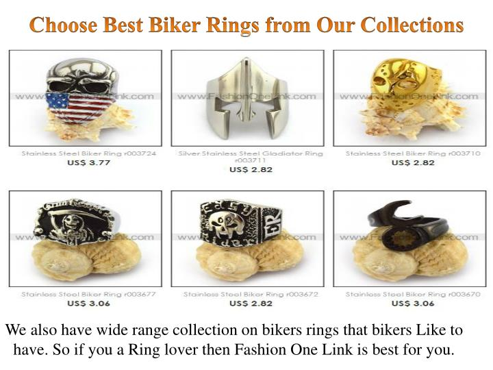 Choose Best Biker Rings from Our Collections
