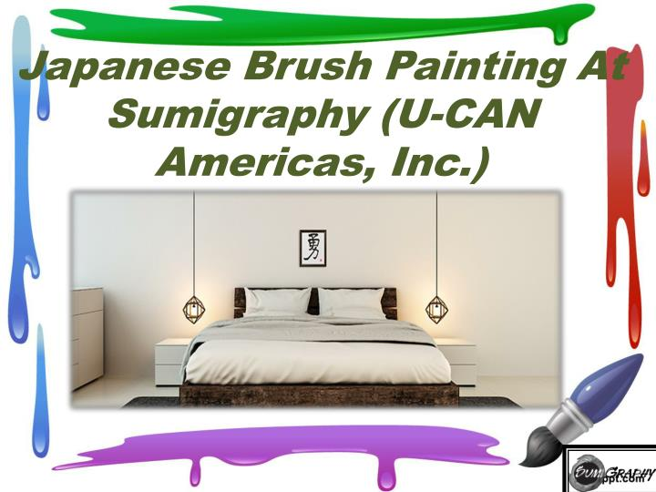 japanese brush painting at sumigraphy u can americas inc n.
