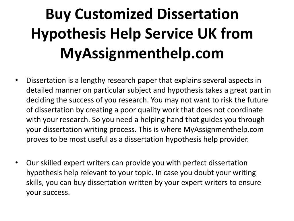 professional dissertation hypothesis writing sites uk