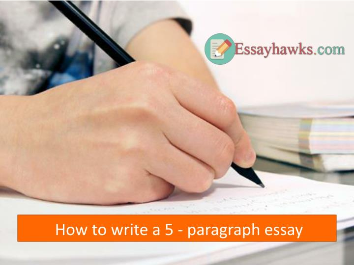 how to write a 5 paragraph essay n.