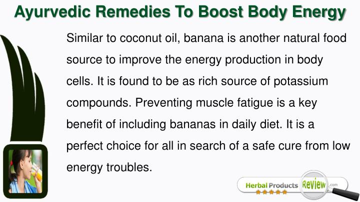 Ayurvedic Remedies To Boost Body Energy