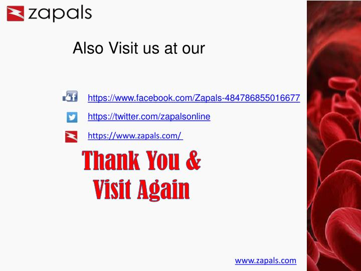 Also Visit us at our