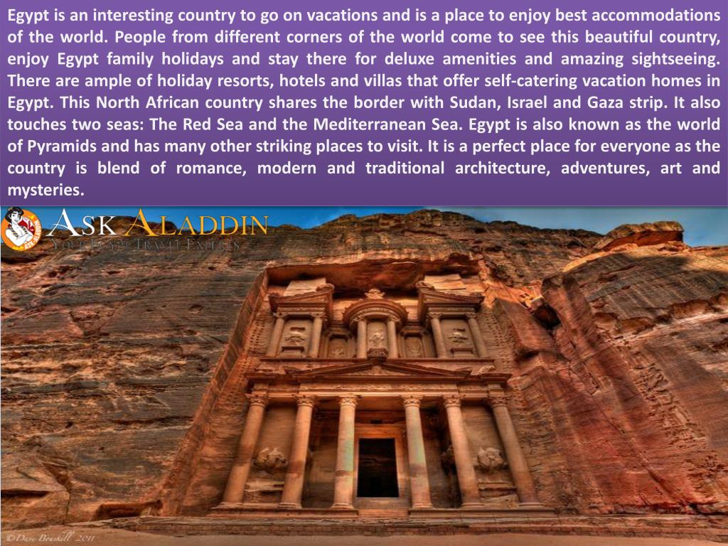 PPT - Famous Tourist Places to See in Egypt PowerPoint Presentation
