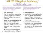 ab 203 slingshot academy ab203study com3