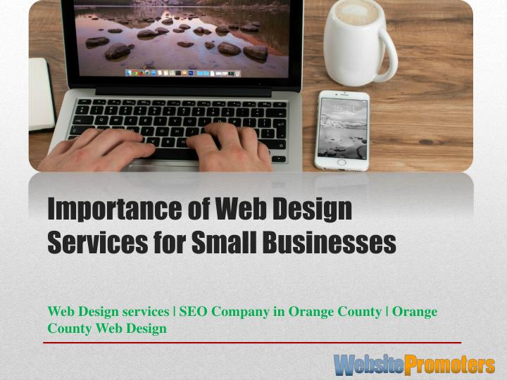 importance of web design services for small businesses n.