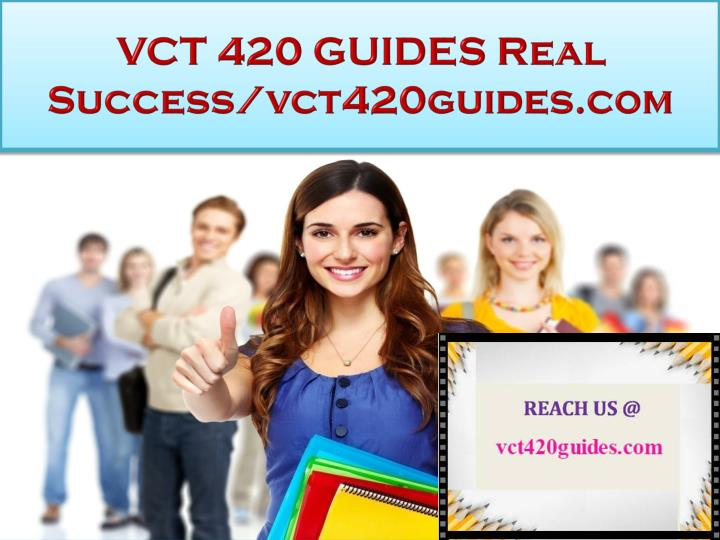 vct 420 guides real success vct420guides com n.