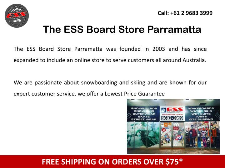 The ess board store parramatta