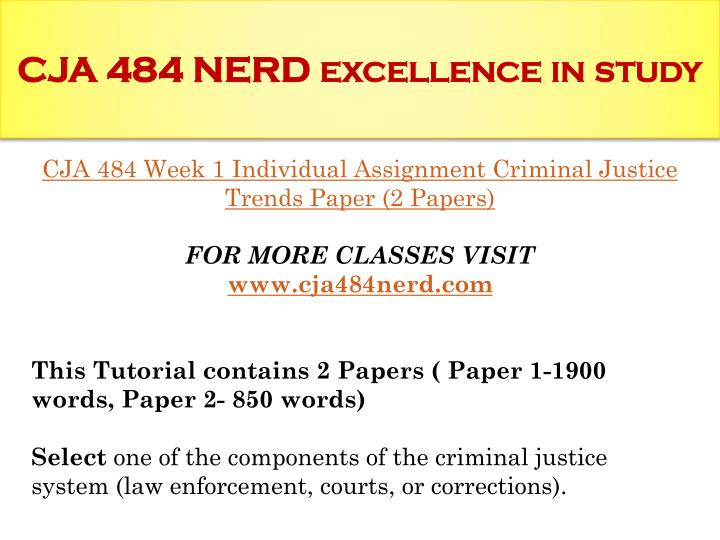 criminal law evaluation paper Criminal law defines what conduct is considered criminal the law defines the acts that may lead to an arrest, prosecution, and imprisonment (schmalleger.