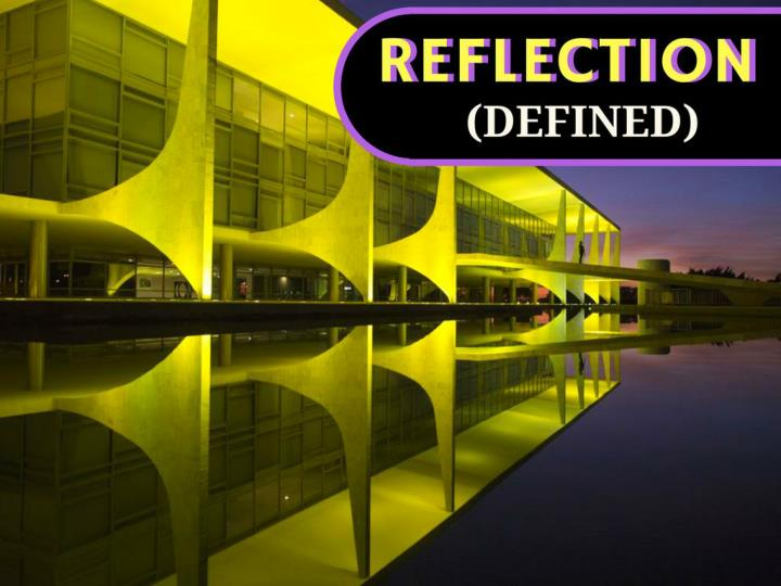 reflection defined n.