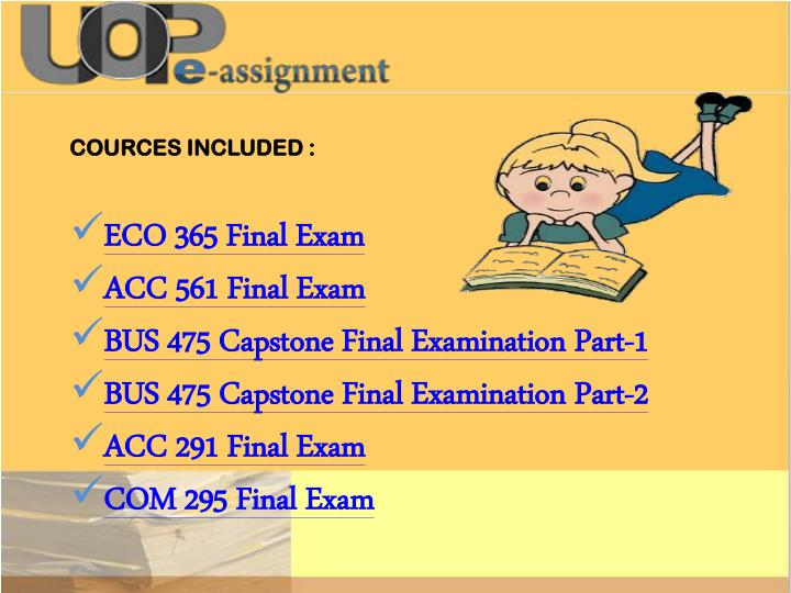 eco 365 final exam answers