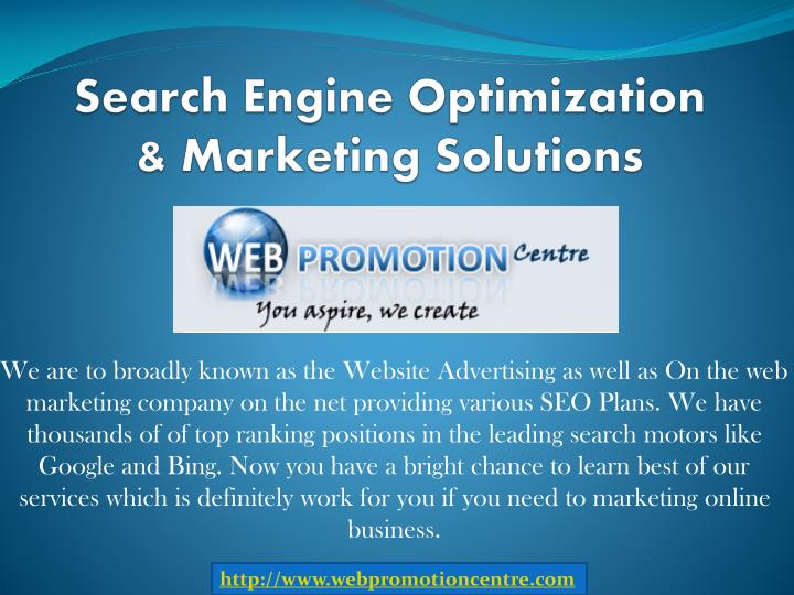 search engine optimization marketing solutions n.