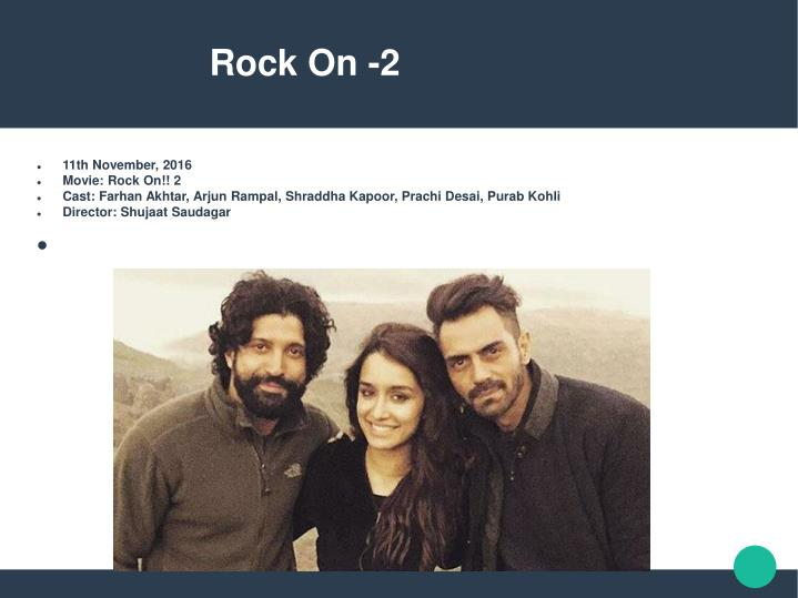Rock On -2