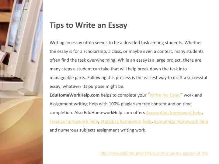 on the spot essay writing tips The second writing task is an independent essay you have to write an essay of at least 300 words on a given topic it takes about 50 minutes here are a few tips for success on the writing section organize your thoughts first do not start writing as soon the section begins.