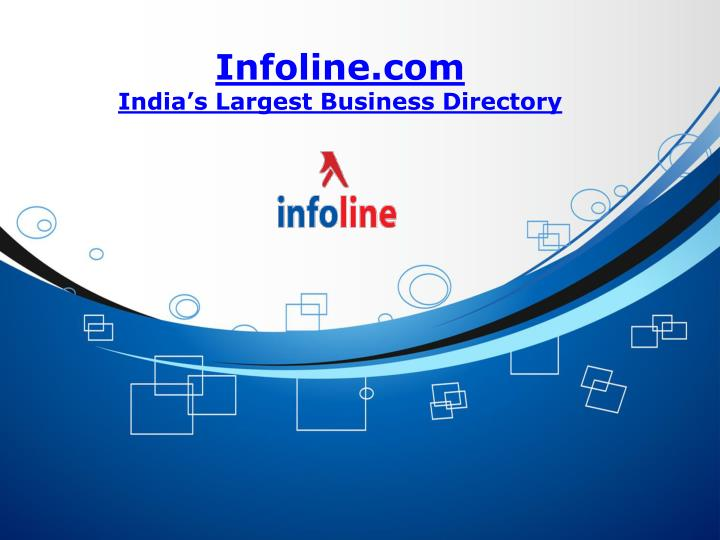infoline com india s largest business directory n.