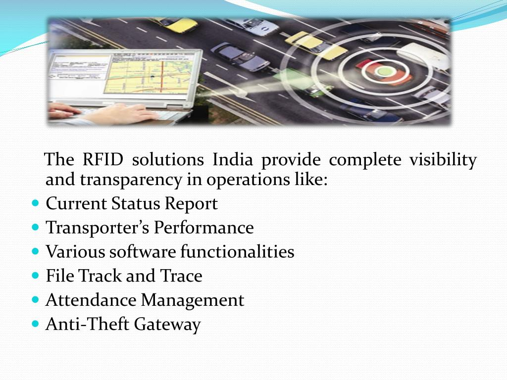 PPT - RFID Technology and GPS Vehicle Tracking System PowerPoint
