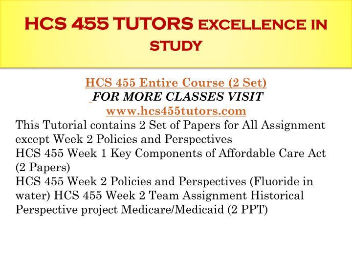 HCS 455 week 5 Assignment