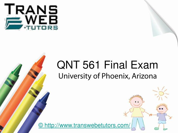 ldr 531 final exam latest university
