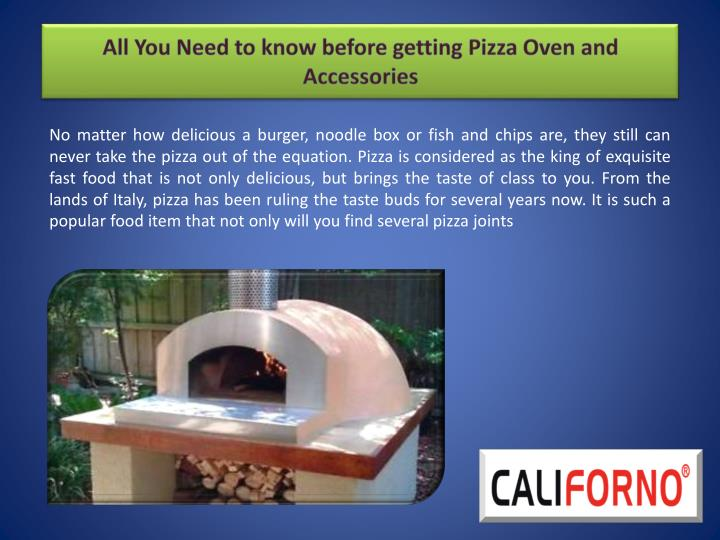 all you need to know before getting pizza oven and accessories n.