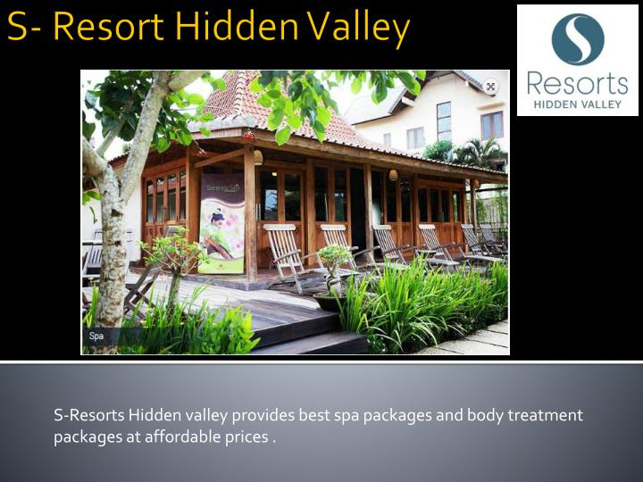 Ppt resort and spa in bali powerpoint presentation id for Best spa vacation packages