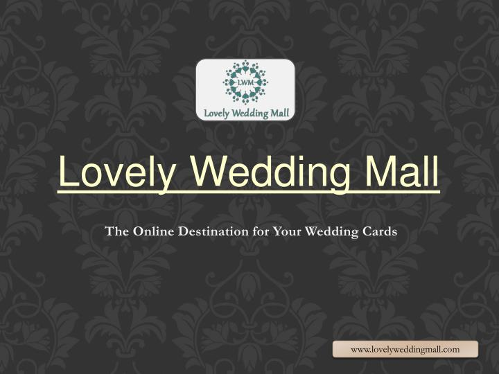 The online destination for your wedding cards